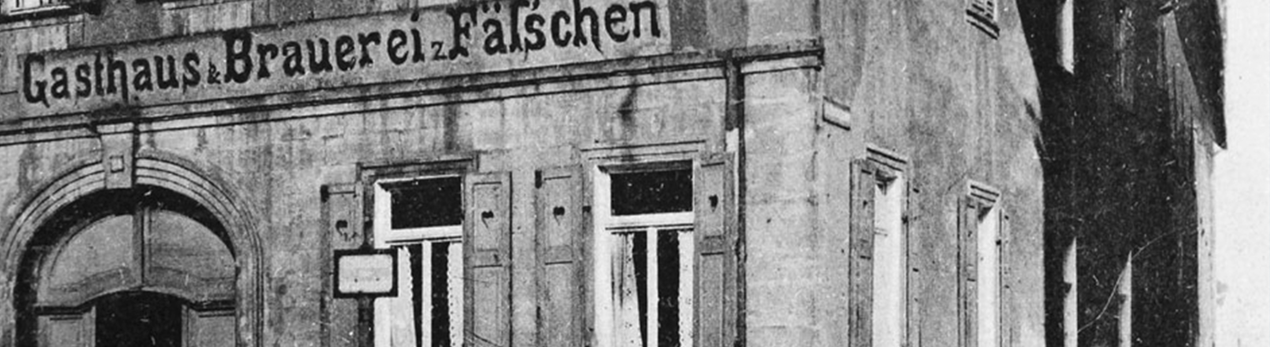 Brauerei Fässla um 1900