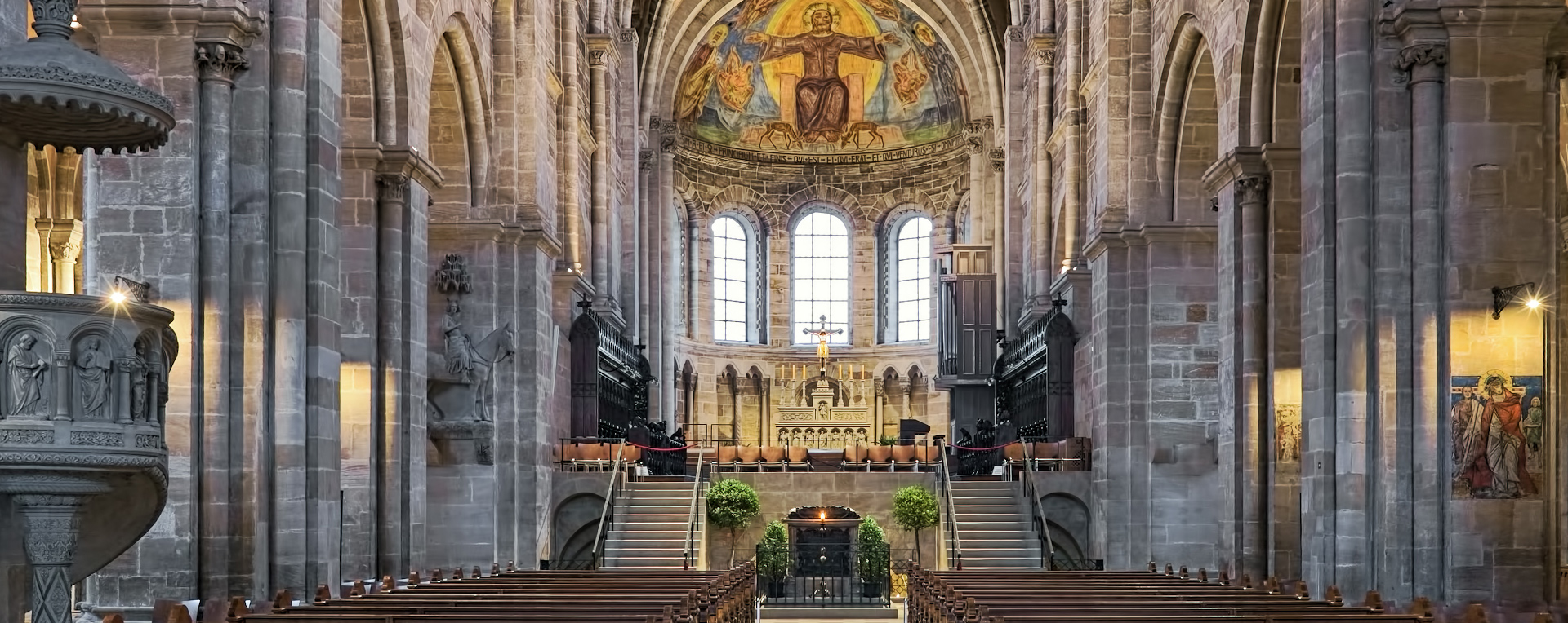 Bamberger Dom Innenansicht